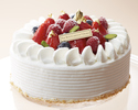 Celebration cake 18 cm round type 5,600 yen (for 7 to 10 people)