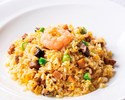 Fried Rice with Seafood, Assorted Meat and Vegetables