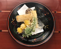 [Lunch only] The Kaiseki course for vegetarians 11,000JPY (Over 10 People)