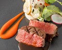 ヴィアンド変更:黒毛和牛フィレ肉のポワレ