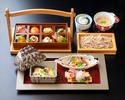 【Special Kaiseki Set Lunch for Ladies】Kaiseki Set with a glass of Sparkling wine & Special Dessert for JPY 5,300!!