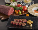【MASYU】 Seafood and Australian Beef (100 g) course