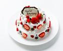 2段生デコレーションケーキ