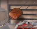 (黒毛和牛フィレ)炉釜炭火焼ステーキコース