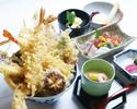 【平日限定】贅沢大海老とアスパラと八種野菜の天丼膳 1日10食限定!