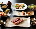 "【Dinner - Official Online Special! A Glass of Rosé Champagne】Brand Wagyu Beef Dinner Course ""YAMATO"""