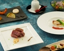 "【Dinner - Official Online Special! A Glass of Rosé Champagne】Brand Wagyu Beef Dinner Course ""YURI"""