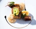 週末ランチ Gourmand (4品のコース)