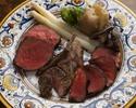 スペシャルグリリャータミスタ(本日のおすすめ牛肉3種盛り合わせ)