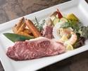 平日【オープンテラスBBQ】国産牛ロース肉などをご堪能!       120分フリードリンク付き
