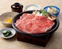 松阪牛 すき焼御膳(デザート付)