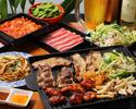 ◎◎ 【2時間】牛・豚・鶏+エスニックタパス食べ放題 アジアンBBQコース(飲み放題付)