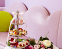 """ Pompadour + アイスマカロン + ミニパルフェ"" Afternoon Tea"