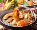 サムギョプサルお肉&包み野菜食べ放題コース☆ウェブサイト限定3H飲み放題付