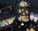 Black Afternoon Tea + a glass of Champagne