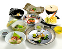 【a traditional Japanese course dinner】 Snow
