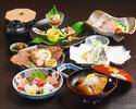 【Easy course】 Domestic beef shabu-shabu 【full vegetables】