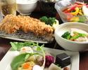 【ランチ×ライトプラン】ワンドリンク付き!メインはやまと豚の『コンビカツ』前菜5種、角煮など
