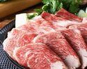 2時間飲み放題 特選黒毛和牛すき焼きコース 5500円(全9品)