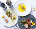 ベストレート‼『乾杯スパークリング付き』 旬の食材とシェフの感性が織りなすお皿の上のアート作品 全12品