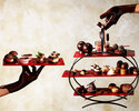 (10/1~)【Online Booking Exclusive】Afternoon tea set -Chocolate-(Weekdays)