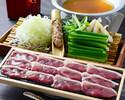 蕎麦つゆだしの鴨葱鍋セット2,900円(税抜)