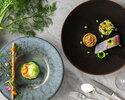 <ディナー>お魚とお肉料理の両方が選べるコース「PLAISIR」/¥12,600