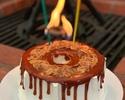 【DINNER TIME】バースデープラン★スパークリングワインと人気のキャラメルシフォンケーキでお祝いするお得プラン。料理は鎌倉食材を使ったイタリアンフード6品★