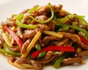 Stir-fried Beef and Green Pepper (M size)