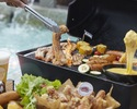 【ディナータイム】チーズ好き必見!チェゴチキン×サムギョプサルBBQプラン (飲み放題付き)
