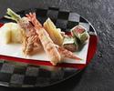 【Lunch TEMPURA MIZUKI】 AOYAGI