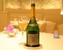 【WEB限定プラン】グラスシャンパン付、吉野シェフのスペシャリテ尽くしのディナーコース全9品~WEB予約特典付き~
