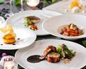 【グラススパークリング付!】非日常空間で食す全6品フルコースフレンチディナー