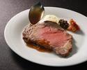 【Dinner course】 COURSE B (Roast beef)