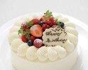 お祝いのお席に...ケーキの注文承ります(3日前までのご予約に限ります)