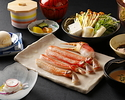 Crab Shabu-Shabu Lunch