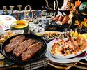 【10月以降はこちら】☆土日祝限定☆通常4,290円→3,700円!ハロウィーンフェア!牛肉ステーキや特製ホット料理、デザート等、豊富な種類が食べ放題!