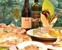 【イタリアンディナー お1人様5000円】前菜・パスタ・メインなど全6皿×2時間飲み放題付き