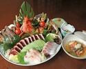 特選皿鉢コース【限定1日30食】
