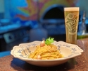 (Special Offer) Olive Oil Pasta + 1 Glass of Peroni Draft Beer