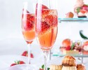 [Special offer for Online Booking] PEACH AFTERNOON TEA with glass of MOMO Sparkling Wine