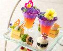 Seasonal Afternoon tea set ~ Floral Afternoon Tea ~