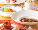 全7品季節の食材ディナーコース ¥9,680
