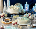 ナイトスイーツブッフェ「Sweets Parade」~WHITE CHRISTMAS × NAVY BLUE〜