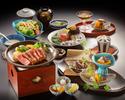 Nihonbashi Ameyaki Steak Course High Quality Beef tenderloin120g