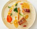 【ランチ ウミリア人気No1コース】横浜の未来コース 小さなスープ+前菜盛り合わせ+選べる手打ちパスタ、メイン、デザート盛り合わせ等+パン+食後のお飲み物がついた