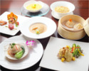 Lunch Course 5800 yen,  Soy Braised Shark Fin and Our Popular Dishes【6 Dishes】