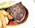 【WEB限定】人気の全4品お魚もお肉も堪能できるプリフィックスディナー(前菜・メイン2品・デザート) 通常9100円→8190円