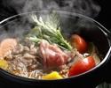 松阪牛のすき煮御膳