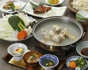 博多水炊きコース (前菜からデザートまでのコースです)